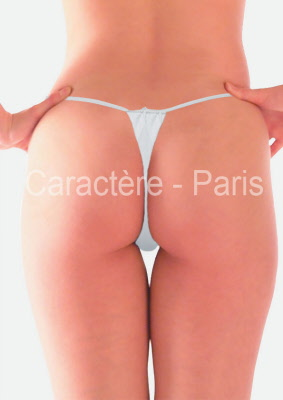 Disposable Women S White G String Undergarments Cover Up